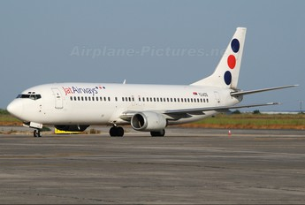 YU-AOS - JAT Airways Boeing 737-400