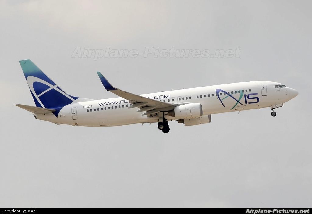 Axis Airways F-GZZA aircraft at Tel Aviv - Ben Gurion