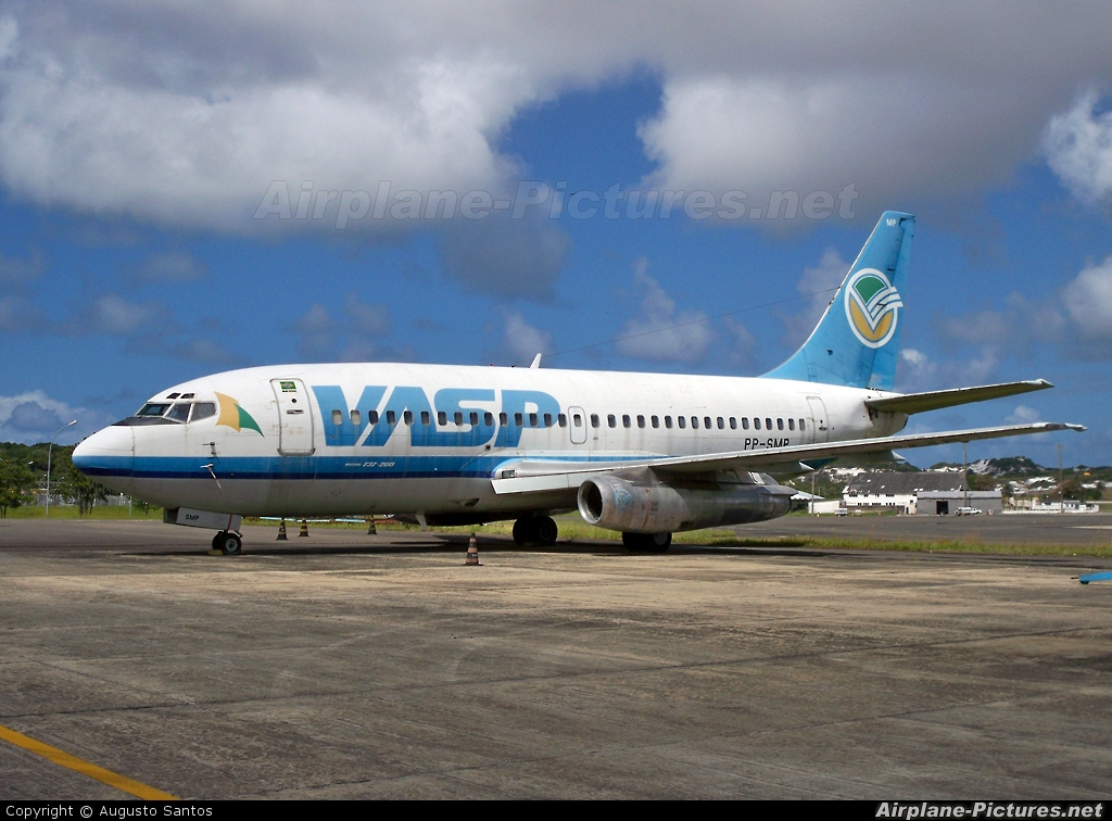 VASP PP-SMP aircraft at Salvador - Int / Deputado Luis Eduardo Magalhaes