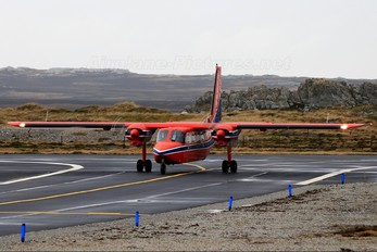 VP-FBR - Falkland Islands Government Air Service (FIGAS)  Britten-Norman BN-2 Islander