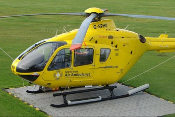 G-SPHU - North West Air Ambulance Eurocopter EC135 (all models)