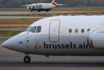OO-DJQ - Brussels Airlines British Aerospace BAe 146-200/Avro RJ85