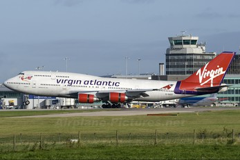G-VAST - Virgin Atlantic Boeing 747-400