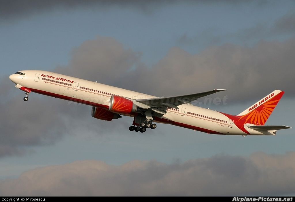 Air India VT-ALJ aircraft at London - Heathrow