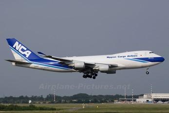 JA08KZ - Nippon Cargo Airlines Boeing 747-400F, ERF