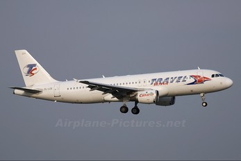 YL-LCE - Travel Service Airbus A320