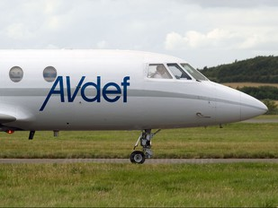F-GPAA - AVdef - Aviation Defence Service Dassault Falcon 20