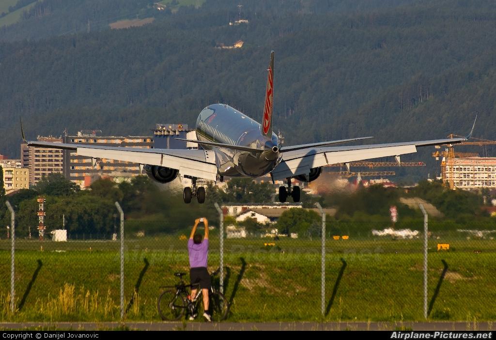 Niki OE-IHA aircraft at Innsbruck