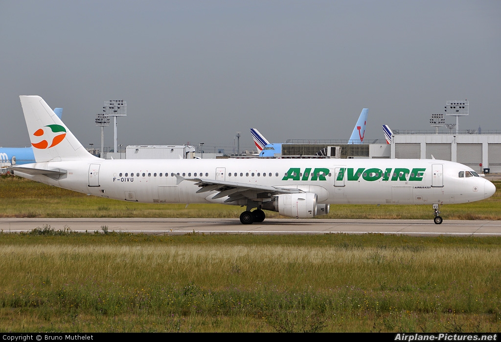 Air Ivoire F-OIVU aircraft at Paris - Orly