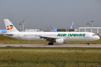 F-OIVU - Air Ivoire Airbus A321