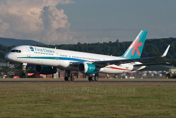 G-OOBH - First Choice Airways Boeing 757-200