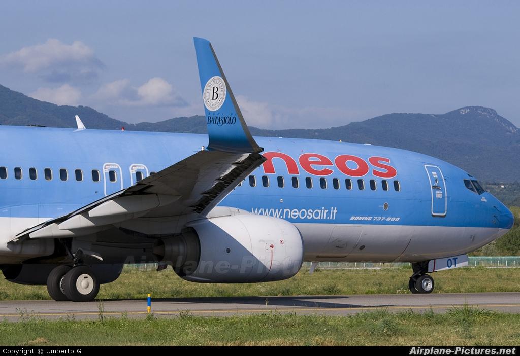 Neos I-NEOT aircraft at Bergamo - Orio al Serio