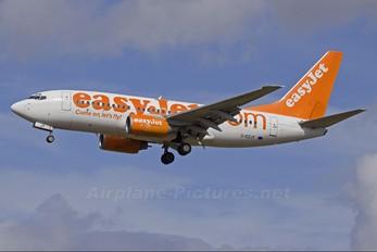 G-EZJY - easyJet Boeing 737-700