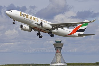 A6-EKO - Emirates Airlines Airbus A330-200