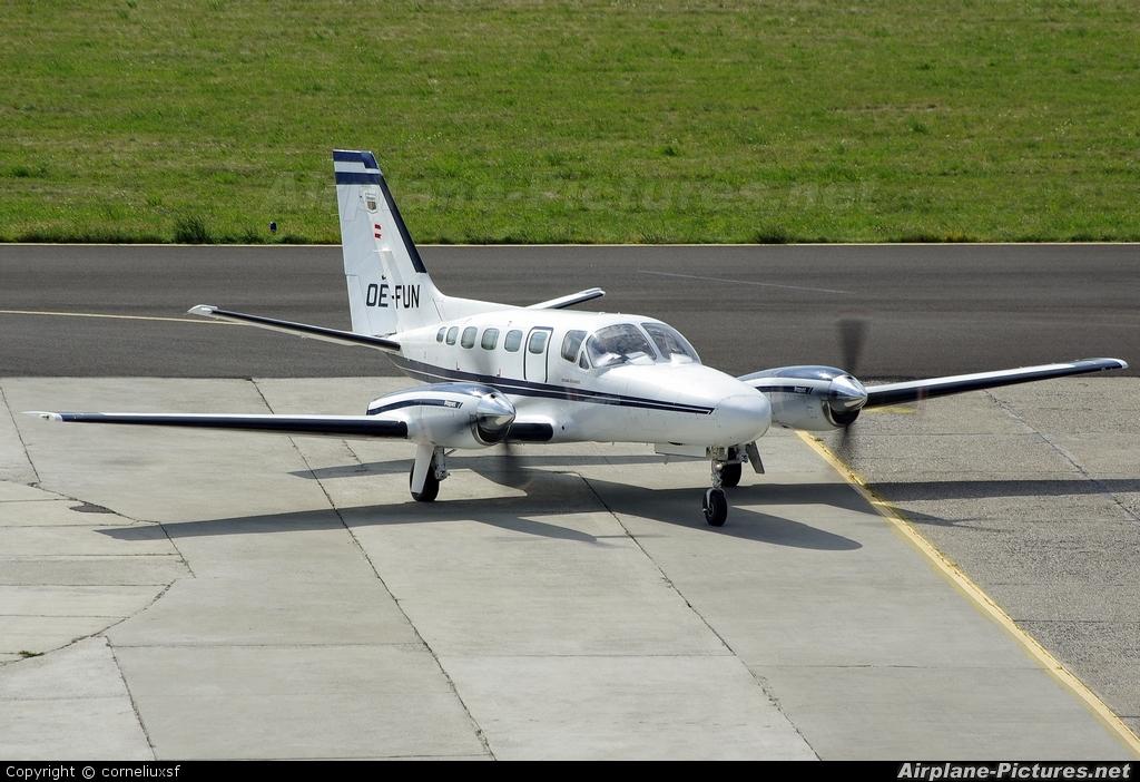 Private OE-FUN aircraft at Bacau