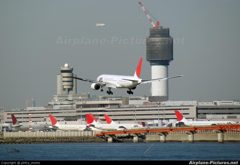 JAL - Japan Airlines JA008D aircraft at Tokyo - Haneda Intl