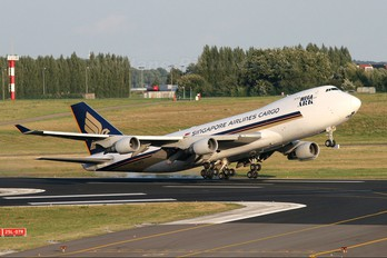 9V-SFN - Singapore Airlines Cargo Boeing 747-400F, ERF