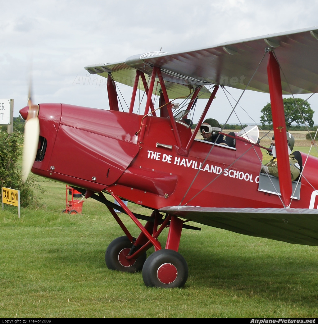 Private G-ACDA aircraft at Little Gransden