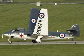 "WV908 - Royal Navy ""Historic Flight"" Hawker Sea Hawk FGA.6"