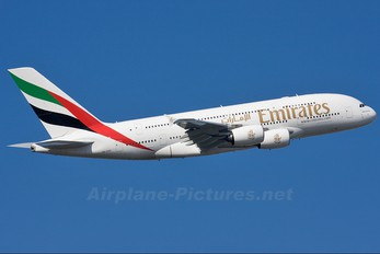 A6-EDD - Emirates Airlines Airbus A380