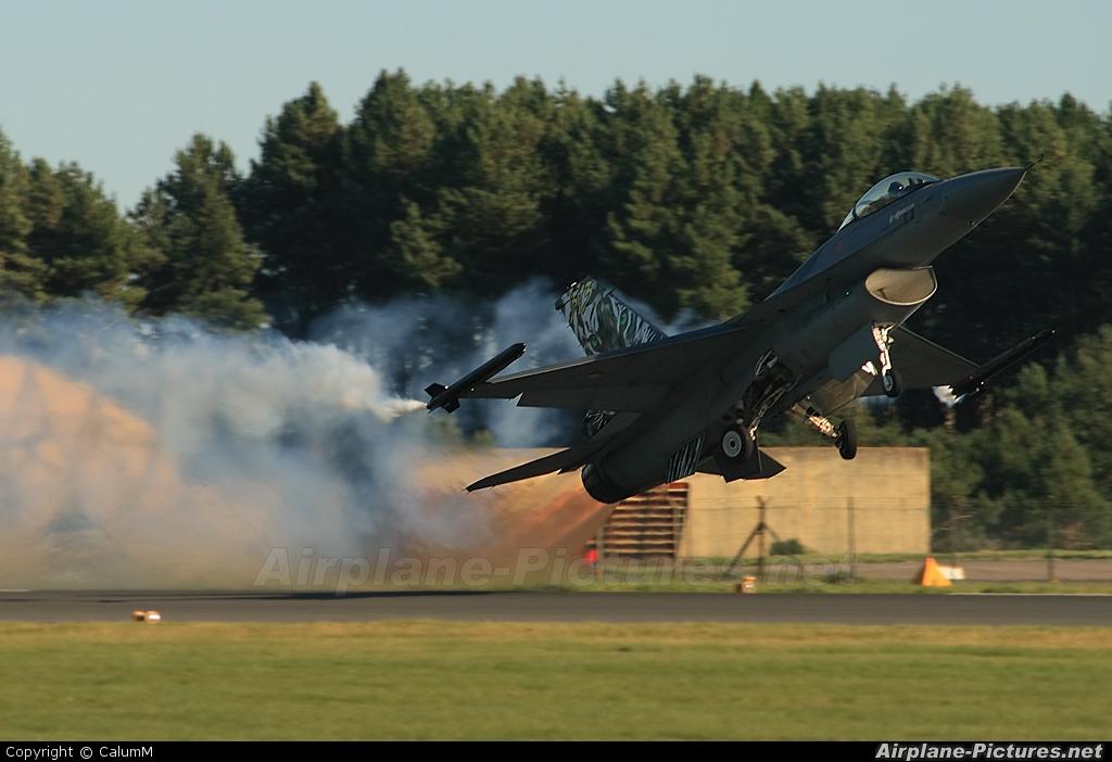 Netherlands - Air Force J-008 aircraft at Leuchars