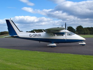 G-ORVR - Ravenair Partenavia P.68