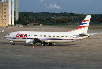 OK-WGY - CSA - Czech Airlines Boeing 737-400