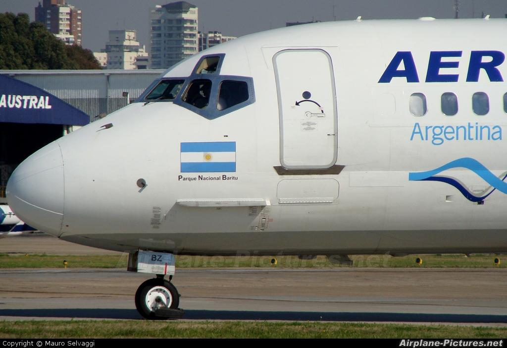 Aerolineas Argentinas LV-VBZ aircraft at Buenos Aires - Jorge Newbery