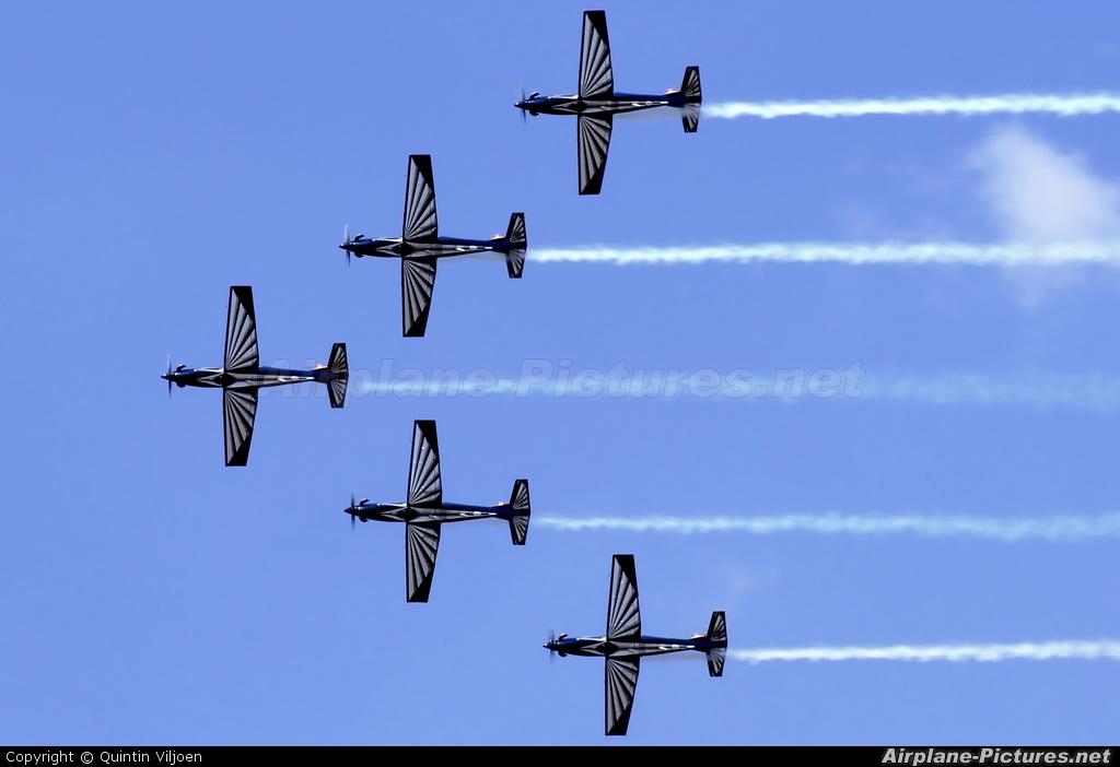 South Africa - Air Force: Silver Falcons - aircraft at Swartkops