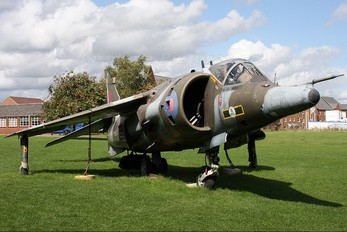 XV752 - Royal Air Force British Aerospace Harrier GR.3