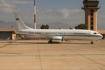 HZ-102 - Saudi Arabia - Government Boeing 737-800 BBJ