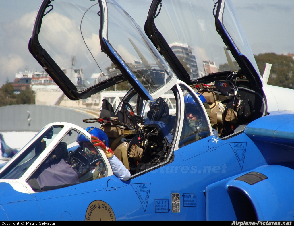 "France - Air Force ""Patrouille de France"" E94 aircraft at Buenos Aires - Jorge Newbery"