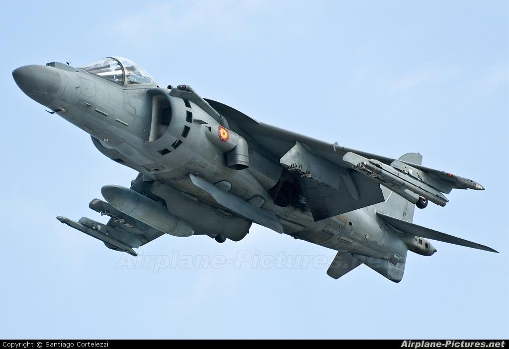 Spain - Navy VA.1B-27 aircraft at Valencia