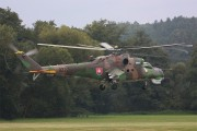 0222 - Slovakia -  Air Force Mil Mi-24D aircraft