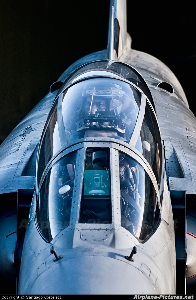 Argentina - Air Force I-002 aircraft at Río Gallegos, Piloto Civil Norberto Fernández