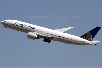 N78003 - Continental Airlines Boeing 777-200ER