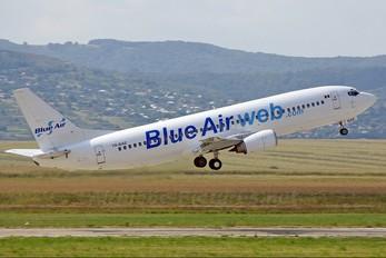 YR-BAE - Blue Air Boeing 737-400