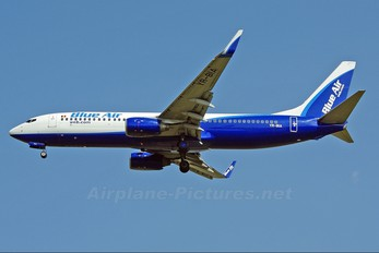 YR-BIA - Blue Air Boeing 737-800