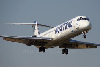 LV-BAY - Austral Lineas Aereas McDonnell Douglas MD-83