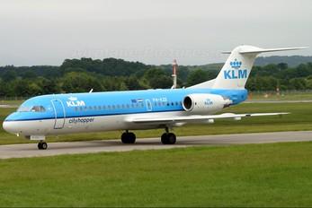 PH-KZE - KLM Cityhopper Fokker 70