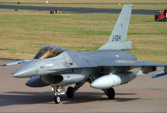 J-004 - Netherlands - Air Force General Dynamics F-16A Fighting Falcon