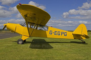 G-EGPG - Private Piper L-18 Super Cub