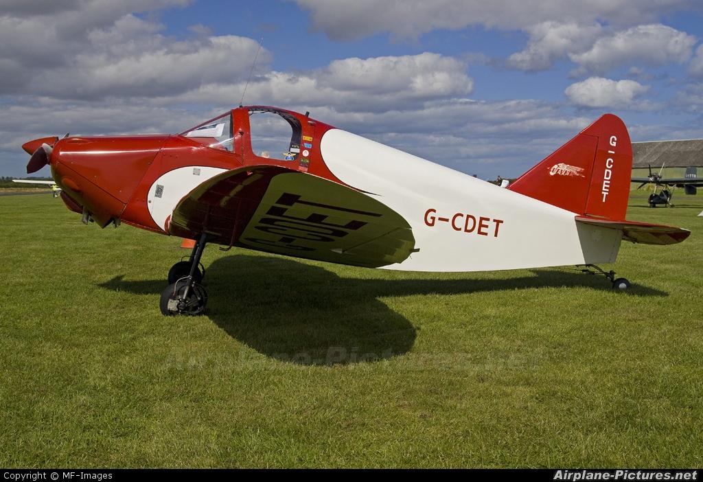 Private G-CDET aircraft at Eshott