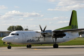 YL-BAT - Air Baltic Fokker 50