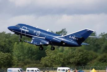 G-FRAU - Cobham Aviation Dassault Falcon 20