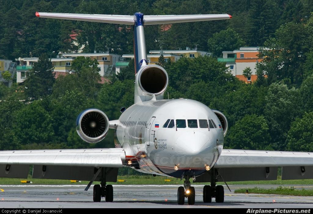 Rusjet Aircompany RA-42411 aircraft at Innsbruck