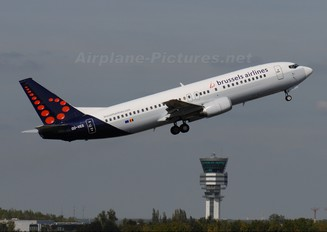 OO-VES - Brussels Airlines Boeing 737-400