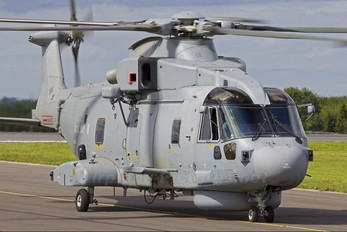 ZH824 - Royal Navy Agusta Westland AW101 111 Merlin HM.1