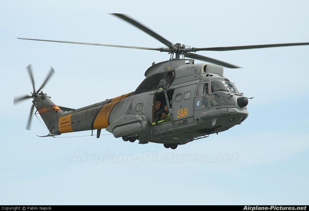 Spain - Air Force HD.19-4 aircraft at Valencia