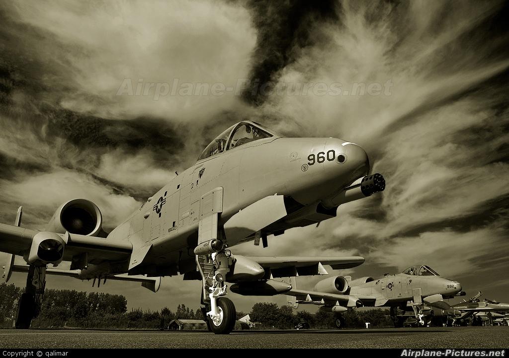 USA - Air Force 81-0960 aircraft at Radom - Sadków